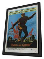 Paths of Glory - 27 x 40 Movie Poster - Style A - in Deluxe Wood Frame