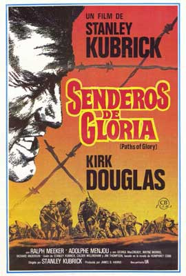 Paths of Glory - 27 x 40 Movie Poster - Italian Style A