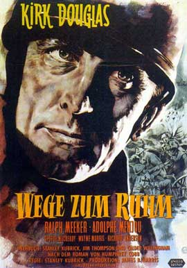 Paths of Glory - 11 x 17 Movie Poster - German Style A