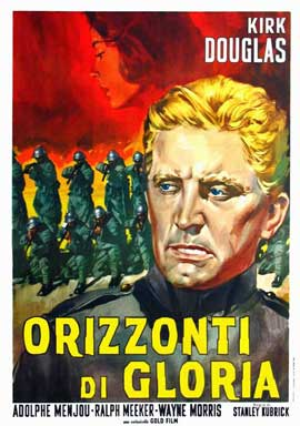 Paths of Glory - 27 x 40 Movie Poster - Italian Style B