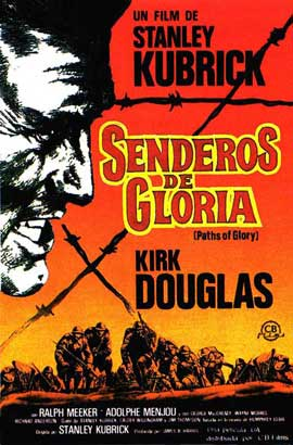 Paths of Glory - 11 x 17 Movie Poster - Spanish Style B