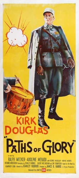Paths of Glory - 13 x 30 Movie Poster - Australian Style A