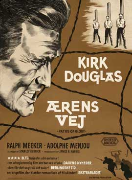 Paths of Glory - 27 x 40 Movie Poster - Danish Style A