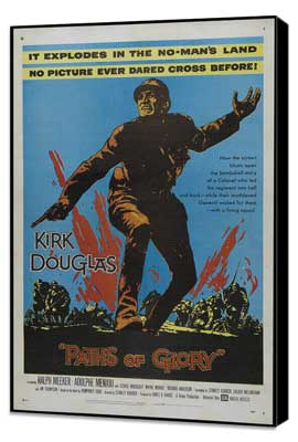 Paths of Glory - 27 x 40 Movie Poster - Style A - Museum Wrapped Canvas