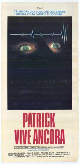 Patrick Still Lives - 11 x 17 Movie Poster - Italian Style A