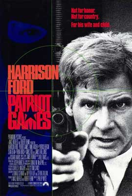 Patriot Games - 27 x 40 Movie Poster - Style A