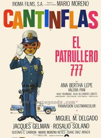 Patrol Craft 777 - 27 x 40 Movie Poster - Spanish Style A