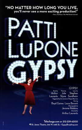 Patti Lupone Gypsy (Broadway) - 11 x 17 Poster - Style A