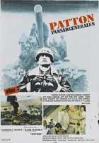 Patton - 11 x 17 Movie Poster - Swedish Style A