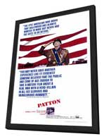 Patton - 27 x 40 Movie Poster - Style A - in Deluxe Wood Frame