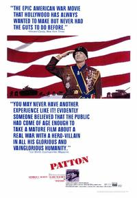 Patton - 43 x 62 Movie Poster - Bus Shelter Style A