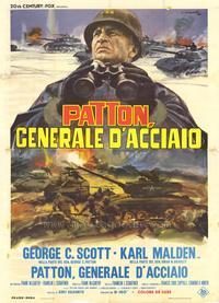 Patton - 11 x 17 Movie Poster - Italian Style B