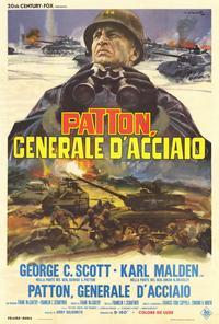 Patton - 27 x 40 Movie Poster - Italian Style B