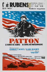 Patton - 11 x 17 Movie Poster - Belgian Style A