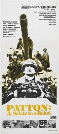 Patton - 13 x 30 Movie Poster - Australian Style A