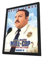 Paul Blart: Mall Cop - 27 x 40 Movie Poster - Style A - in Deluxe Wood Frame