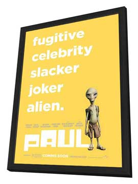 Paul - 11 x 17 Movie Poster - Style A - in Deluxe Wood Frame