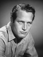 Paul Newman - Paul Newman Portrait in Black and White