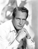 Paul Newman - Paul Newman Portrait in Long Sleeve Polo