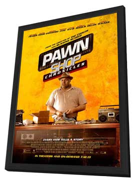 Pawn Shop Chronicles - 27 x 40 Movie Poster - Style A - in Deluxe Wood Frame