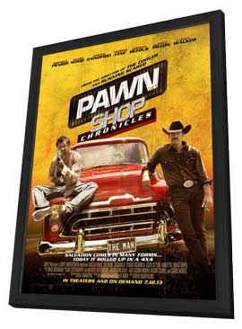 Pawn Shop Chronicles - 11 x 17 Movie Poster - Style B - in Deluxe Wood Frame