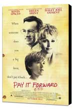 Pay It Forward - 11 x 17 Movie Poster - Style C - Museum Wrapped Canvas