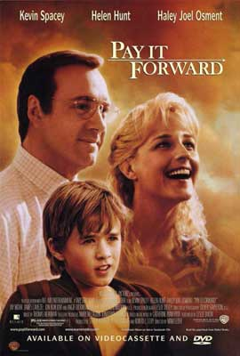 Pay It Forward - 11 x 17 Movie Poster - Style B