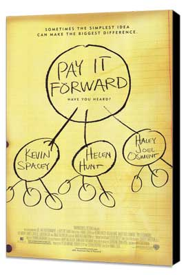 Pay It Forward - 27 x 40 Movie Poster - Style A - Museum Wrapped Canvas