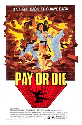 Pay or Die - 27 x 40 Movie Poster - Spanish Style A