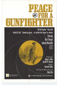 Peace for a Gunfighter - 11 x 17 Movie Poster - Style A