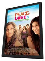 Peace, Love & Misunderstanding - 11 x 17 Movie Poster - Style A - in Deluxe Wood Frame
