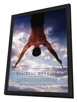 Peaceful Warrior - 27 x 40 Movie Poster - Style A - in Deluxe Wood Frame