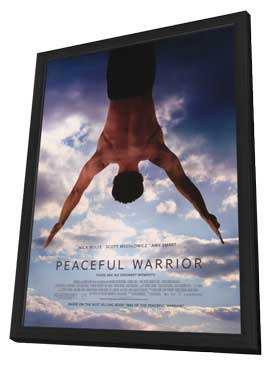 Peaceful Warrior - 11 x 17 Movie Poster - Style A - in Deluxe Wood Frame