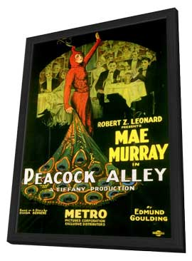 Peacock Alley - 11 x 17 Movie Poster - Style A - in Deluxe Wood Frame