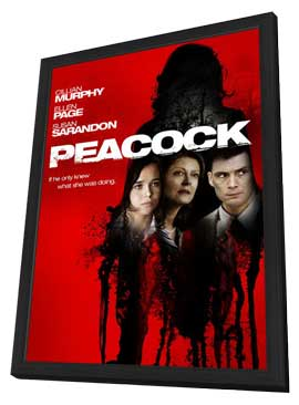 Peacock - 11 x 17 Movie Poster - Style A - in Deluxe Wood Frame