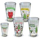 Peanuts - Holiday Pint Glass 4-Pack
