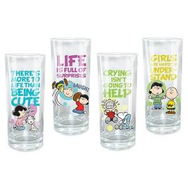 Peanuts - Glasses 4-Pack