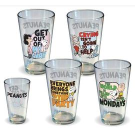 Peanuts - Quotes Pint Glass 4-Pack