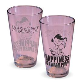 Peanuts - Lucy Happiness Is A Warm Puppy Pint Glass