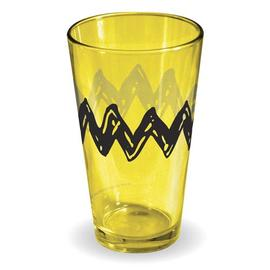 Peanuts - Charlie Brown T-Shirt Yellow Pint Glass