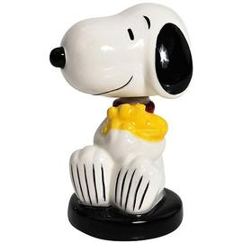 Peanuts - Snoopy Hugging Woodstock Mini Bobble Head