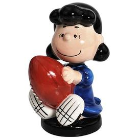 Peanuts - Lucy Holding Football Mini Bobble Head