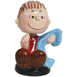 Peanuts - Linus Holding Blanket Mini Bobble Head