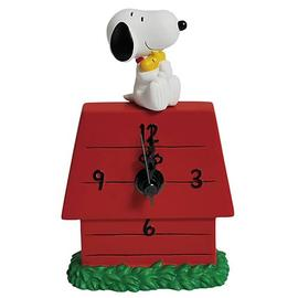 Peanuts - Snoopy Hugging Woodstock Desk Clock