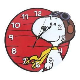Peanuts - Snoopy Flying Ace Wall Clock