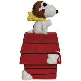 Peanuts - Flying Ace on Doghouse Salt and Pepper Shakers