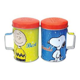 Peanuts - Best Friends Tin Salt and Pepper Shakers