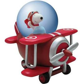 Peanuts - Snoopy Flying Ace Water Globe