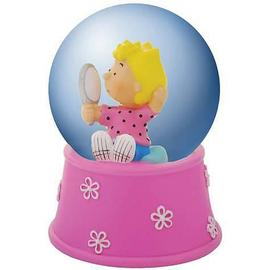 Peanuts - Sally with Mirror Water Globe