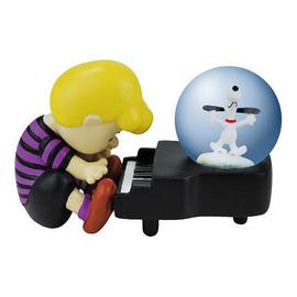 Peanuts - Schroeder and Snoopy Piano Dance Water Globe